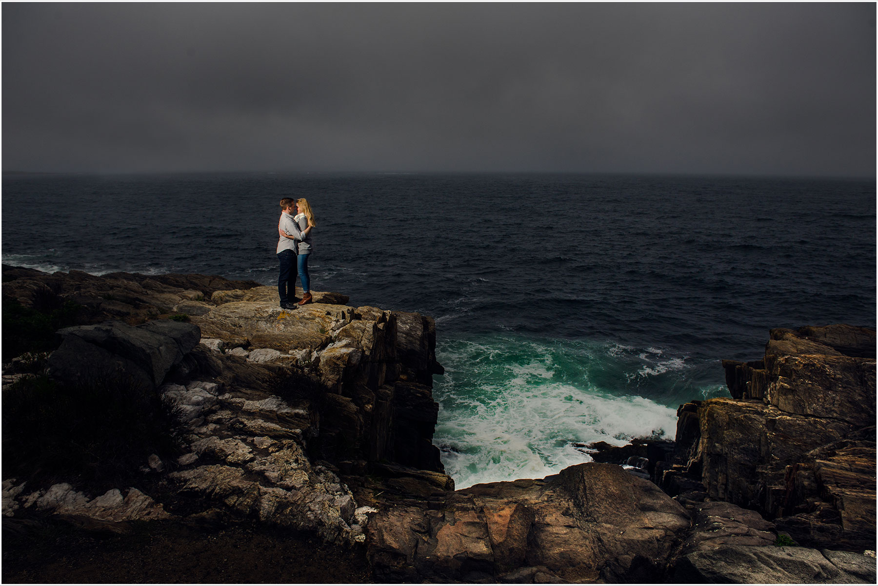 Harpswell Maine Engagement Portraits