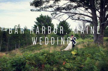 Acadia and Mt Desert Island Weddings by Peter Greeno