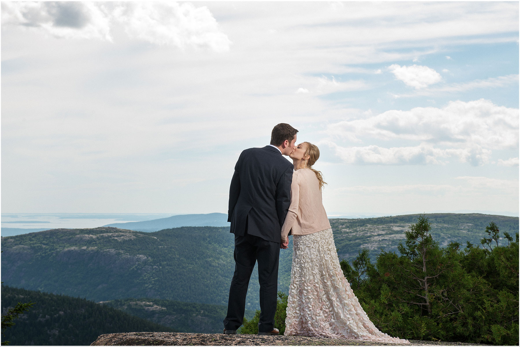 Acadia and Mt Desert Island Weddings by Peter Greeno