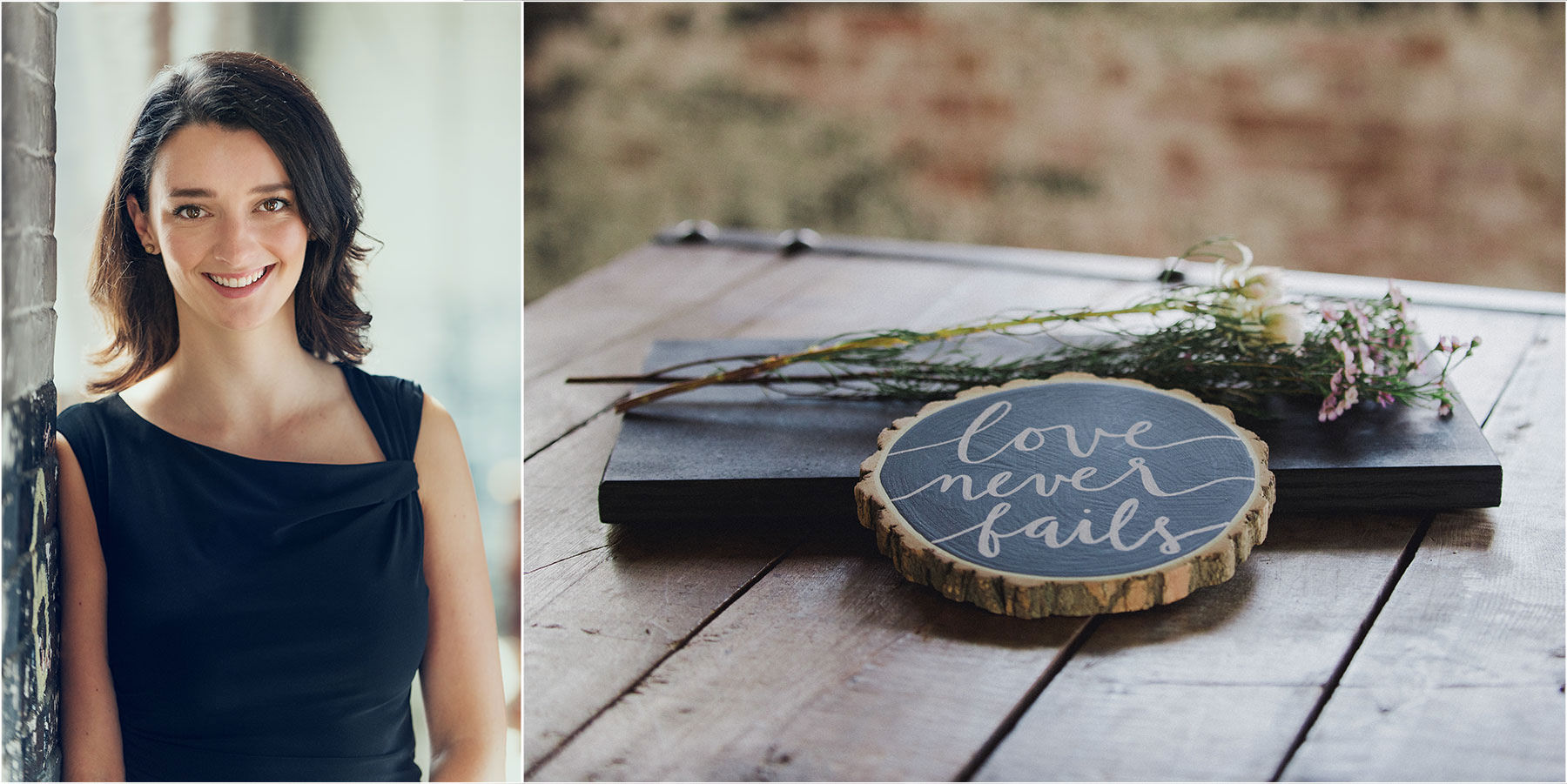 Wedding Calligraphy with Alex Mae Designs by Peter Greeno